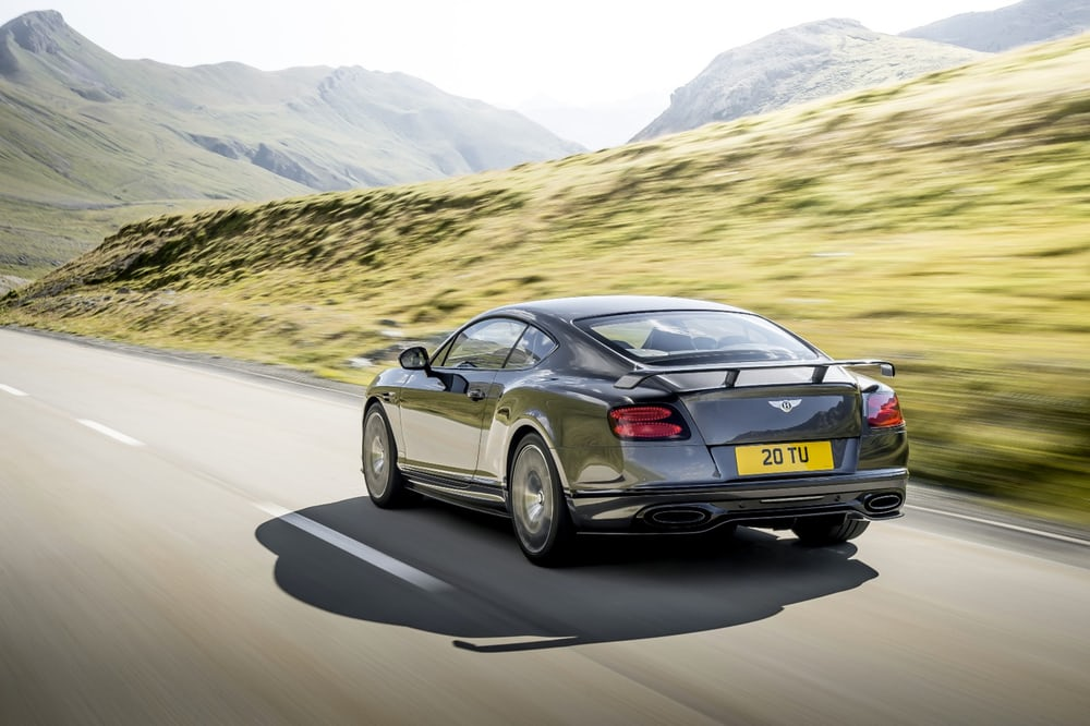 Bentley Continental Supercars